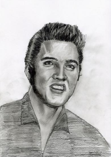 Elvis Presley par sebastien.jouve